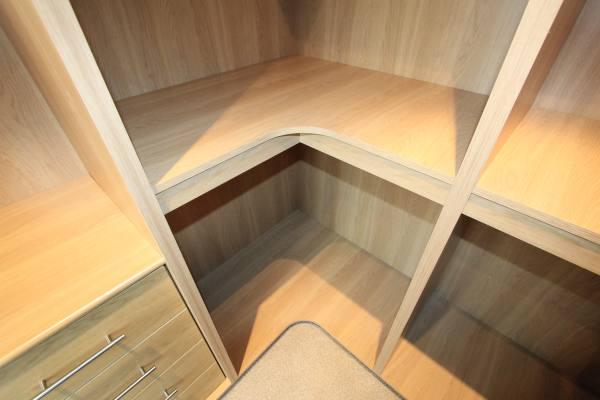 Bespoke Fitted Oak Walk-in Wardrobe, Palmers Green, N13