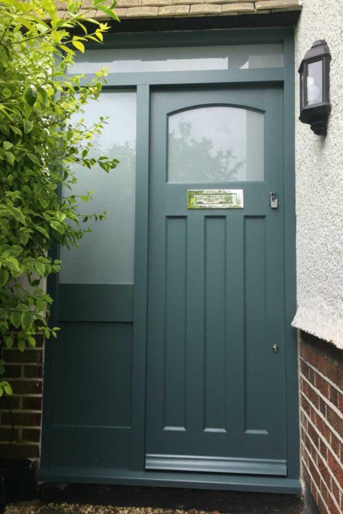Handmade 1930's front door, Palmers Green N13
