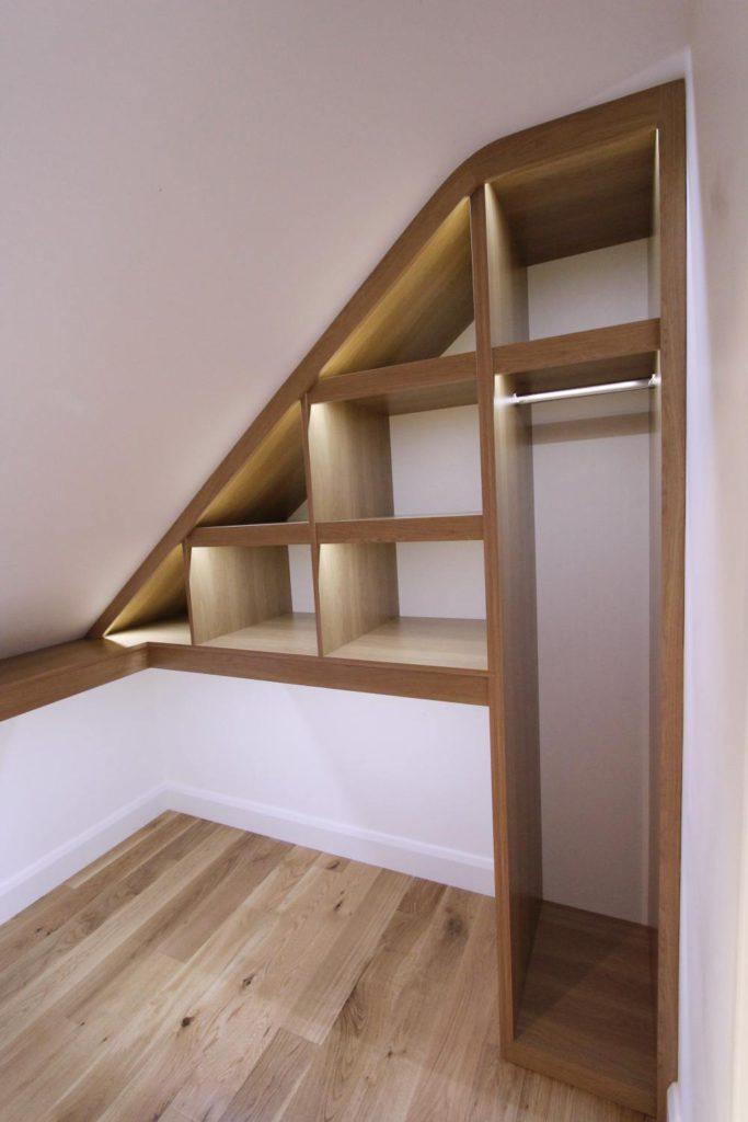 Loft conversion walk-in wardrobe, Barnet EN5