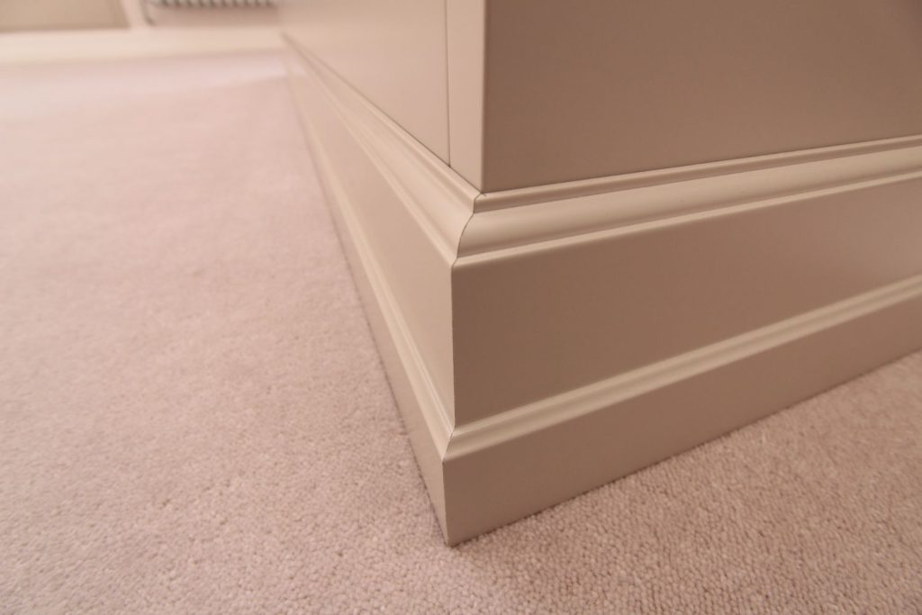 Bespoke traditional skirtings for tv lifts, London, Essex, Hertfordshire