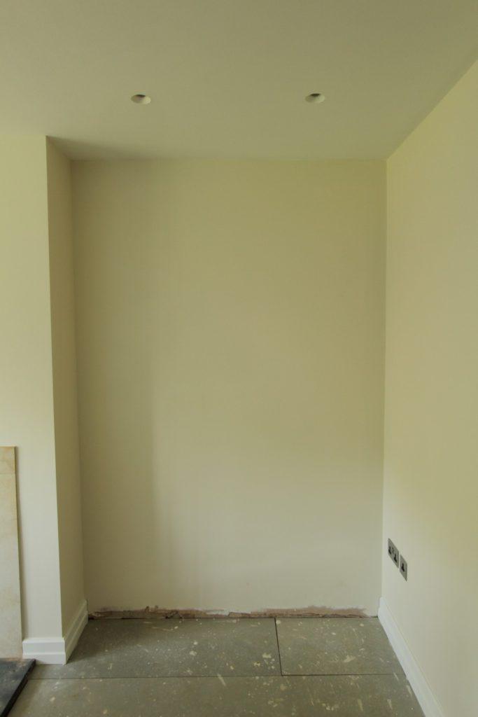 Empty alcove, Sevenoaks TN14