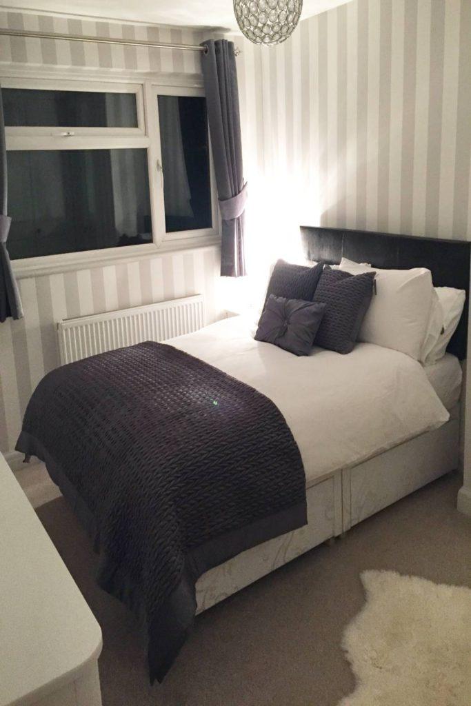 Bedroom decor when finished, Hertfordshire