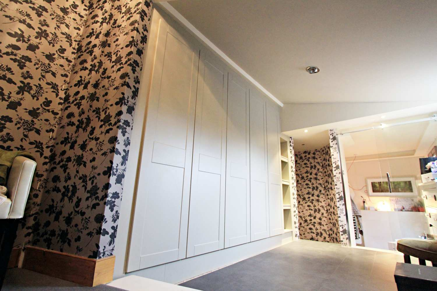 Bespoke Fitted Alcove Wardrobe, Winchmore Hill, N21