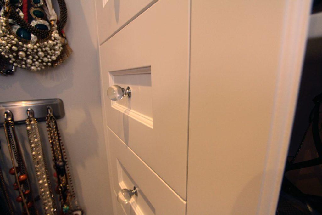 Beaded shaker white drawer fronts, Billericay CM11