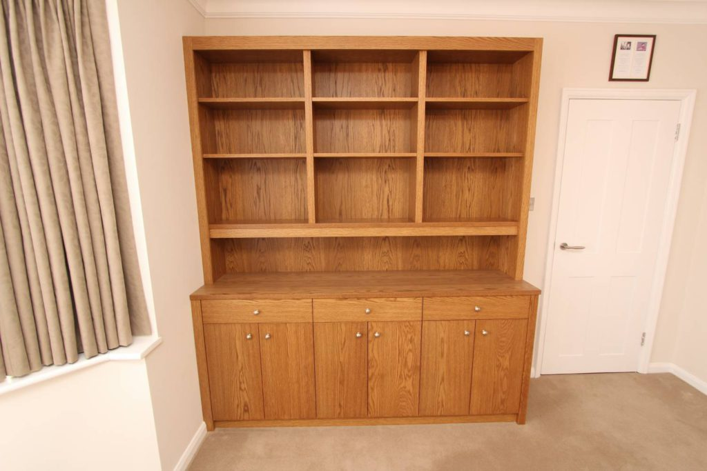 Front view of large oak dresser, Winchmore Hill N21