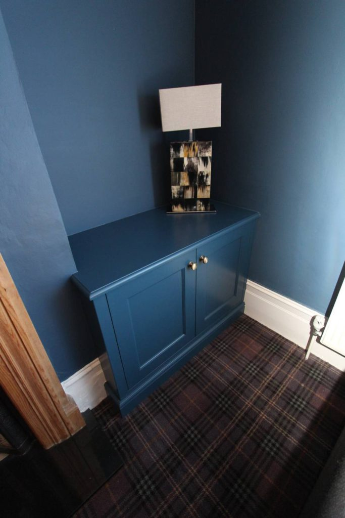 Built in MDF alcove cabinet
