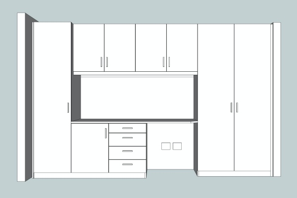 office CAD drawing