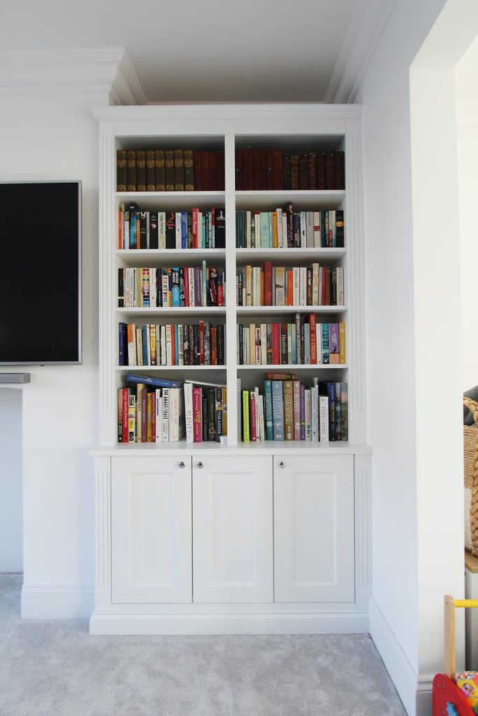 Bespoke alcove cabinet, Muswell Hill N10