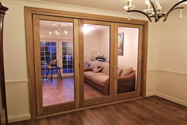 bespoke fitted bi fold doors