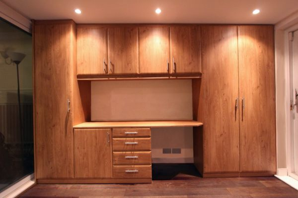 Fitted office furniture, London