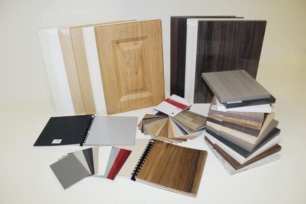 Furniture material samples